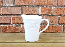 White Ceramic Jug