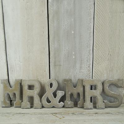 Mr and Mrs word set