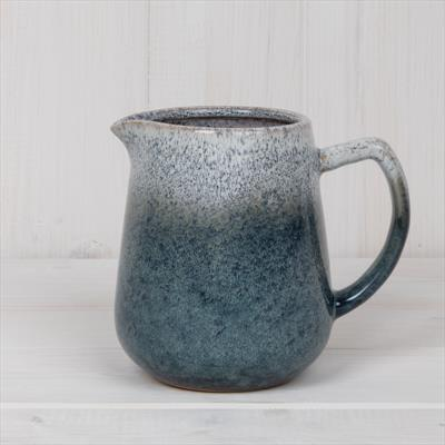 Glazed Blue Jug