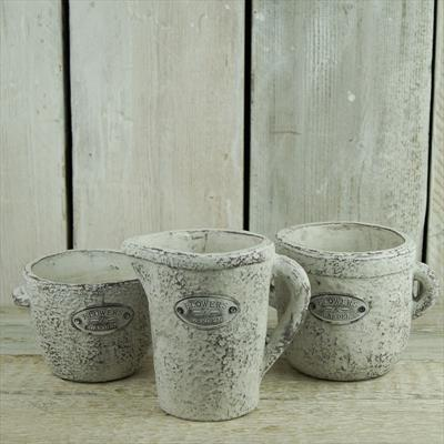 Whitewashed Jugs and Pots