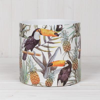 Ceramic Toucan Pot