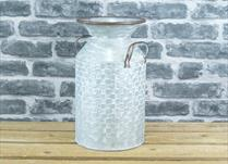 Large Zinc Milk Churn Planter