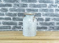 Medium Zinc Milk Churn Planter