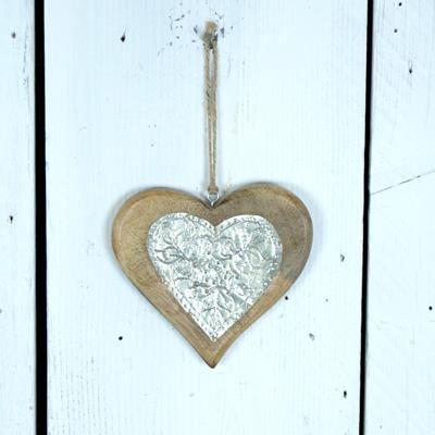 Wooden Hanging Heart Satchville Gift Co Hanging Heart
