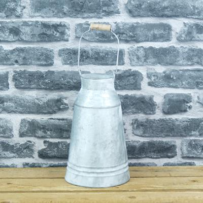 Metal Tall Milk Churn