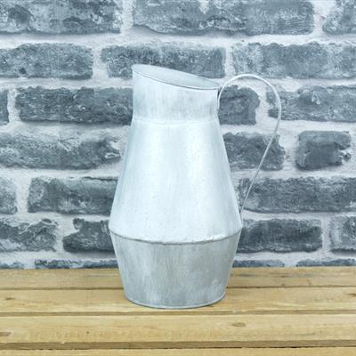 Metal Tall Jug