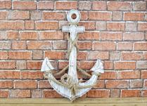 Wooden Anchor (whitewash)