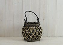 Small Crossed Willow Lantern