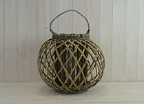 Large Crossed Willow Lantern