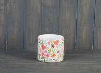 Small Meadow Design Ceramic Pot