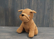 Sitting Dog Doorstop detail page