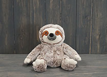 Sitting Sloth Teddy Bear Doorstop detail page