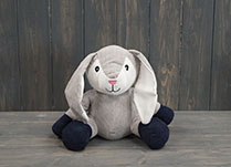 Sitting Up Rabbit Doorstop detail page