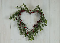 Christmas Heart Wreaths detail page